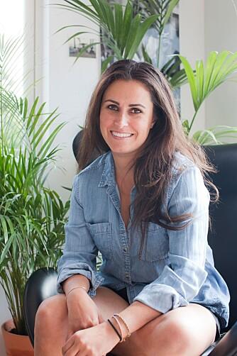 STYLIST: Linda Elmin er eier av nettbutikken Hviit.no. FOTO: Hviit.