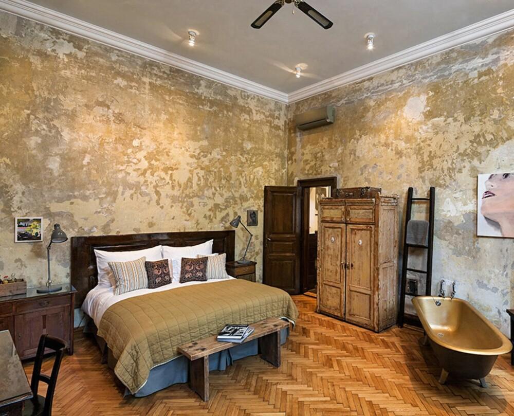 RØFF STIL: Hotel Brody i Budapest har markert seg med sitt spesielle interiør.