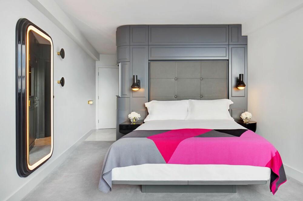 ELEGANT SOVEROM: Tom Dixon har innredet Mondrian Hotel i London med en blanding av 20- og 80-tallet.