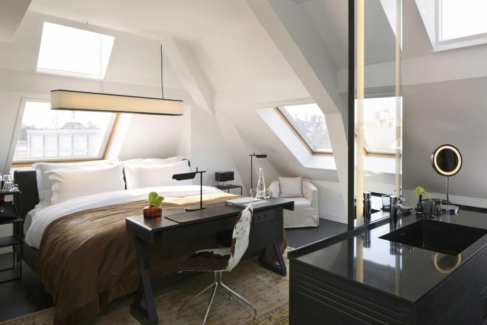 LYST OG STRAMT: Hotel Sir Albert i Amsterdam ligger i et tidligere diamantsliperi.