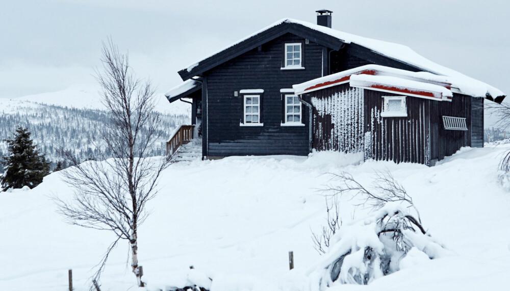 MER BRUKT: Utbyggingen og etterisoleringen har gjort det mer fristende å være på hytta, også på kalde vinterdager.