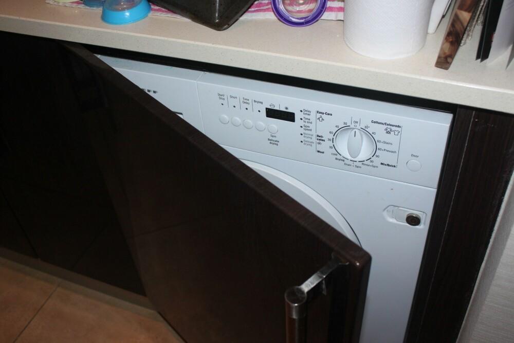 UTNYTT PLASSEN: Gjem vekk vaskemaskinen i et ubrukt hjørne av kjøkkenet. FOTO: Trine Jensen