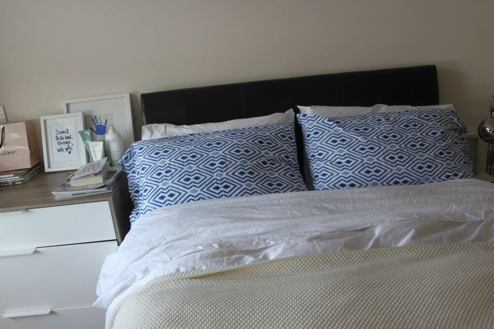 NEI, NEI: Du rer vel ikke opp sengen når du står opp? FOTO: Trine Jensen