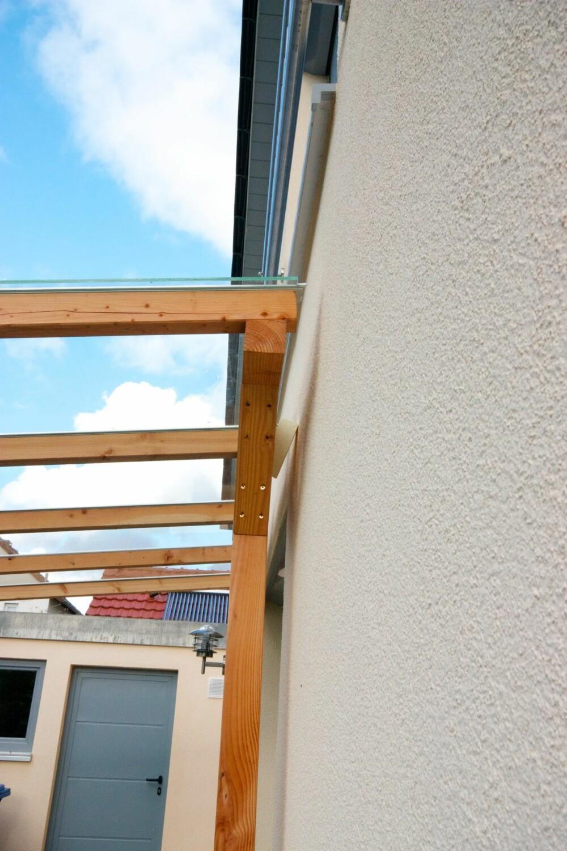 VARMEBROER: Ved å unnlate å koble utvendige konstruksjoner direkte til bygningskroppen, unngår man risikoen for varmebroer.