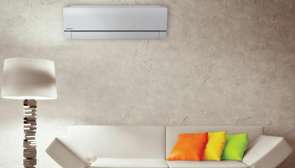 ENERGISPARING: En varmepumpe, plassert i en bolig hvor varmluften kan strømme noenlunde fritt, vil kunne gi en merkbar besparelse i strømregnskapet.