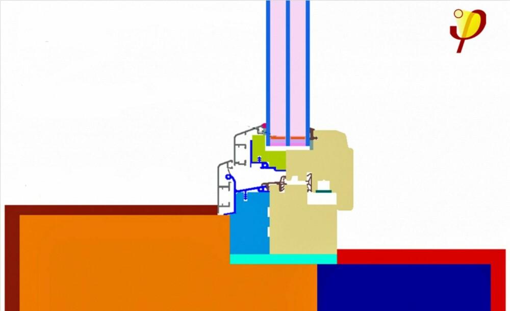 PRINSIPP 3-LAGS VINDUER: I tillegg til de tre lagene med glass, skal et 3-lags vindu også være konstruert slik at det tilnærmelsesvis er tett i karmene.