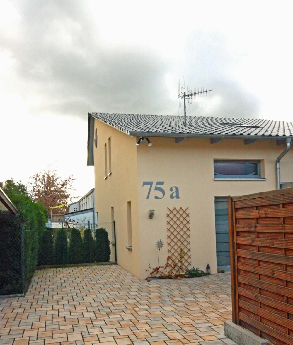 SOLID: Med sine 50 cm tykke vegger fremstår et passivhus som et solid byggverk.