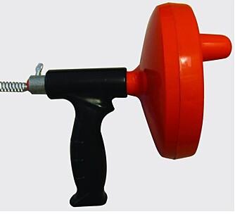 STAKEFJÆR: Denne kan brukes med drill eller håndkraft.