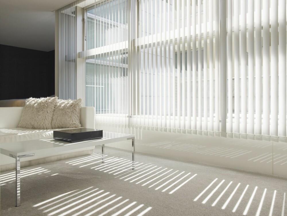 SOLSKJERMING: Blir det utvendig solavskjerming eller vinduer som bidrar til at varme stoppes ute?
