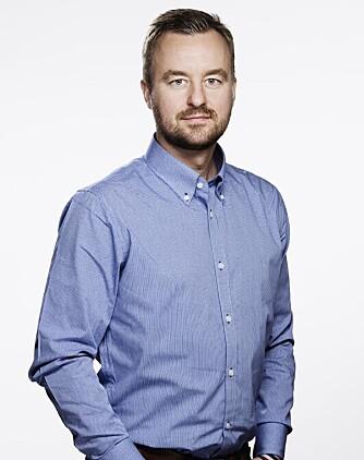 VANNSKADER FOR MILLIONER: Informasjonssjef Pål Rune Eklo i Gjensidige.