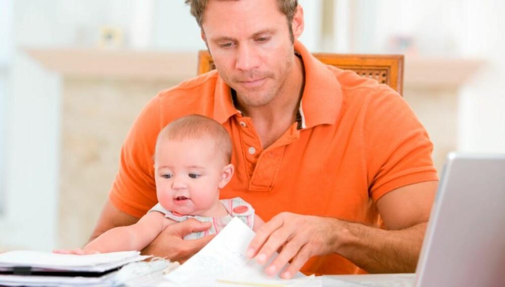 SKJEMATRØBBEL: Seks eller ti uker til pappa? NAV har ikke skjemaer som passer til lovendringen 1. juli.