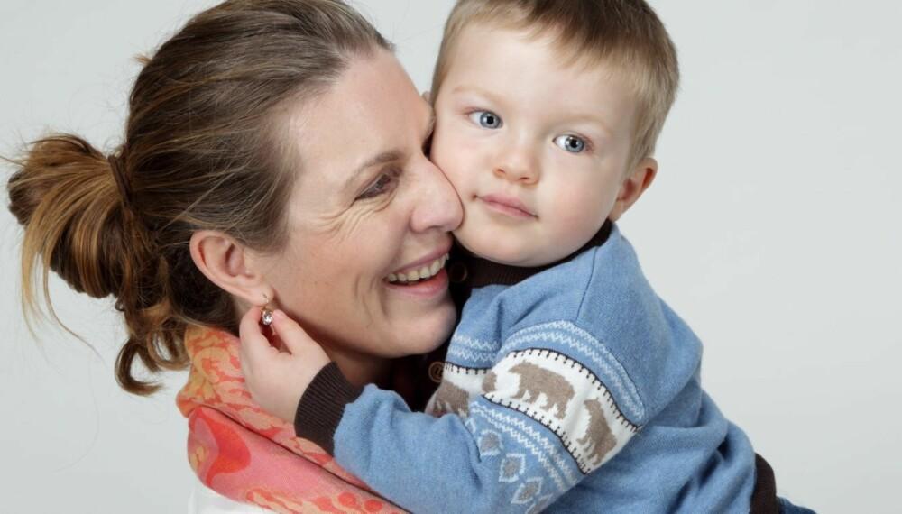 VALGTE DONOR: Da Drømmemannen ikke dukket opp, valgte Marianne Blindheim Eriksen å få barn med en ukjent donor.
