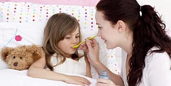 STYRKER IMMUNFORSVARET: Riktig mat er viktig for barn. Det styrker immunforsvaret og hjelper når barna er syke.