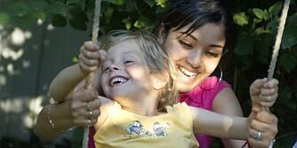 HJELP I HUSET: Au pair-ordningen gir fleksibel hjelp i huset og gode vennskap på kjøpet.