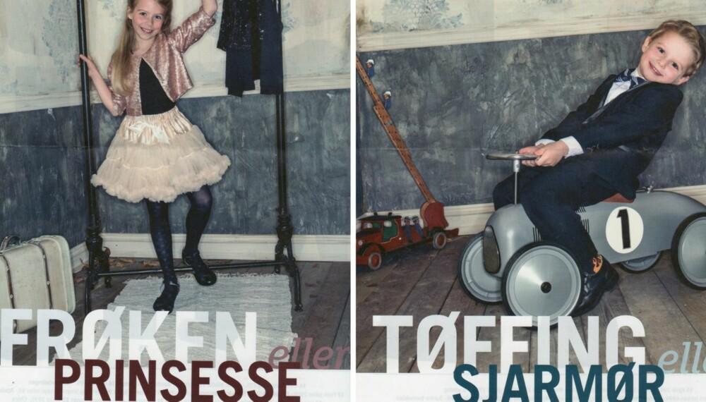FRØKEN ELLER TØFFING? Denne reklamen opprettholder kjønnsstereotypiene fra 50-tallet, raser forfatter Marta Breen. Faksimile: Manglerud senters reklameavis.