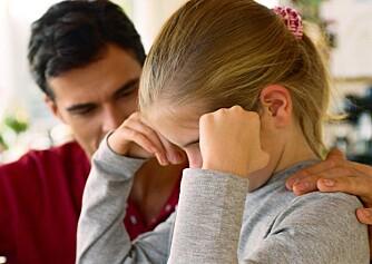 STØTTE: Foreldrene er den viktigste heiagjengen når barnet mister troen på seg selv.