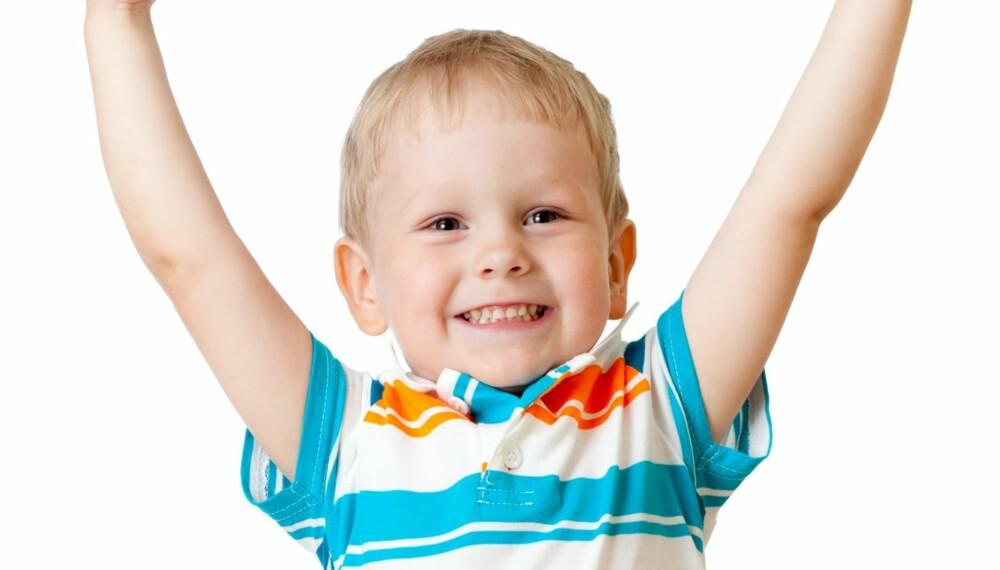 SMARTE BARN: Rundt 3 til 5 prosent av alle barn kan karakteriseres som evnerike, med en høy IQ på over 130.