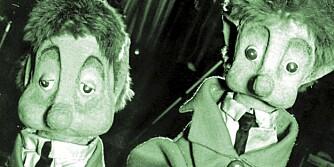 POMPEL OG PILT: To populære herremenn fra det glade 60-tallet.