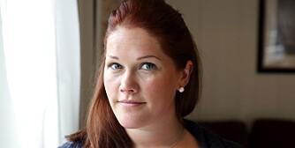 PROBLEMATISK: Cecilie Rochstad risikerer å måtte gå ett år uten lønn fordi hun føder på høsten. Sier hun opp jobben sin, får hun rundt 21.000 kroner etter skatt i arbeidsledighetstrygd, mot 6000 kroner i kontantstøtte per måned.