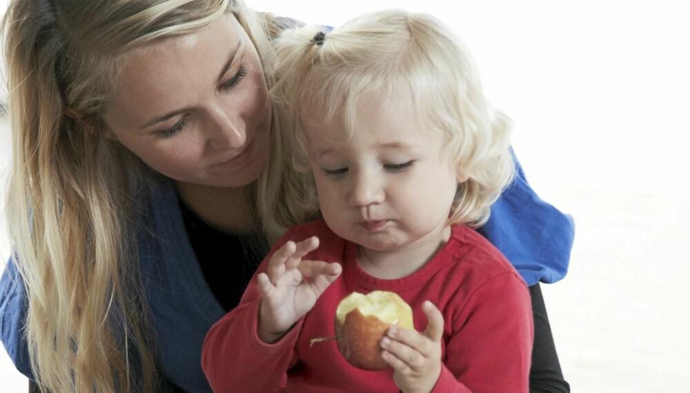 TID TIL BARNET: Det er ikke alltid like lett å få barn til å snakke om mobbing eller andre vonde ting.