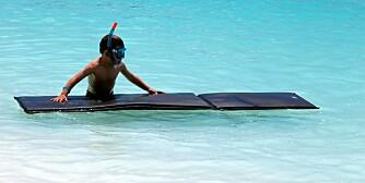 TRYGG FERIE: Med noen forholdsregler kan du minske risikoen for at barn blir syke på ferie.