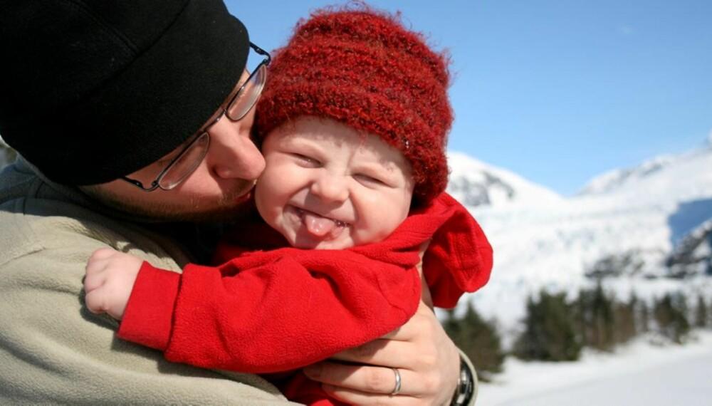 PAPPA: Vil også benytte seg av  fleksibelt uttak av foreldrepermisjon.