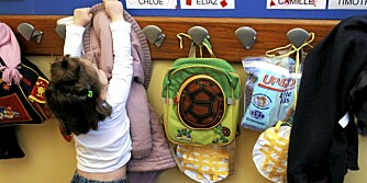 TILVENNING: Noen barn blir raskt trygge i barnehagen, andre trenger mer tid. Her får du tipsene.
