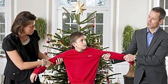 SKILSMISSEBARN: ikke gjør jula til en kamp om foreldrenes rett til å være sammen med barna.