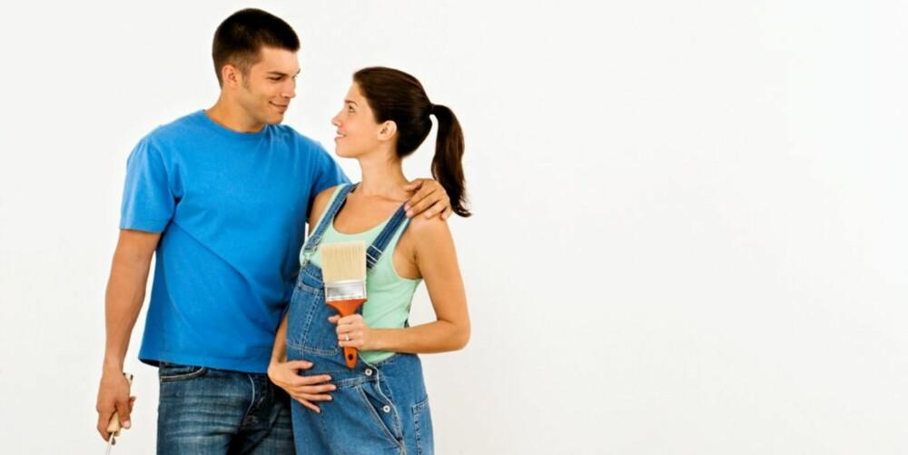 FELLES BARN: Blir dere gravide, må farskapet erkjennes skriftlig, enten under svangerskapet eller etter fødselen, om dere ikke er gift.