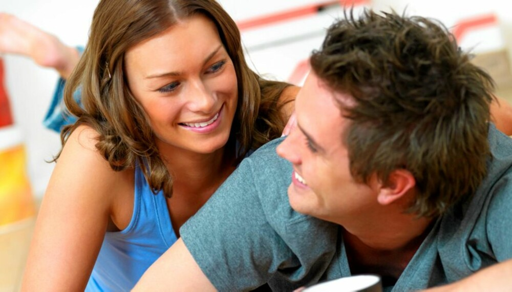 FORELSKET: Med en samboerkontrakt blir det enda mindre forskjell på samboere og ektepar.