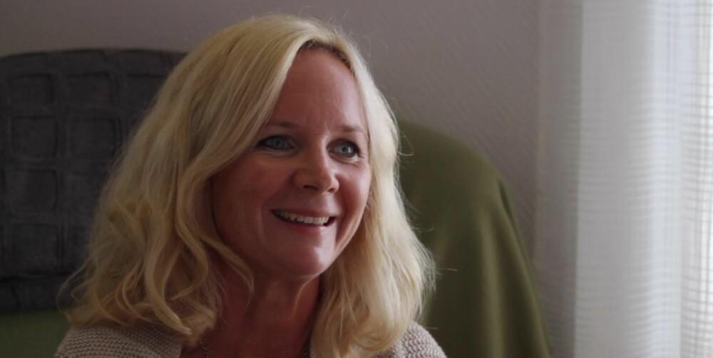ENTUSTIASTISK: Cecilie Sommerstad elsker å være med på den reisen et svangeskap er.