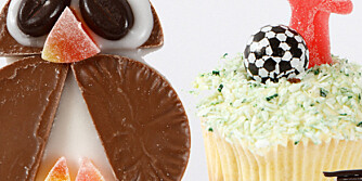 MUFFINS TIL BARNEBURSDAG: En og samme muffinsoppskrift kan brukes til så mangt. Barna elsker det.