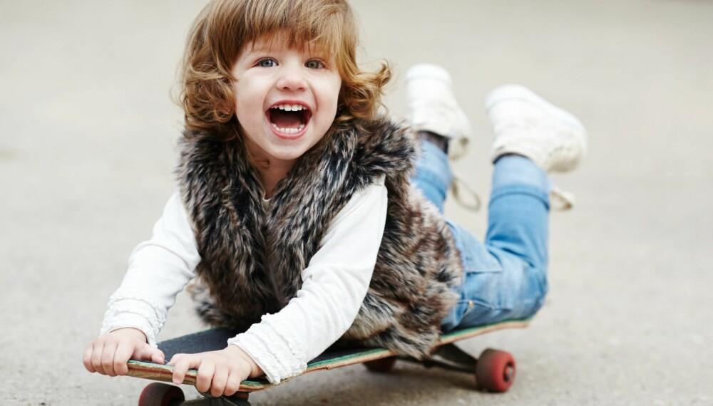 ULIKE FORELDRE: Foreldre oppdrar barna på ulike måter. Er du en speilforelder eller kanskje en helikopterpappa?