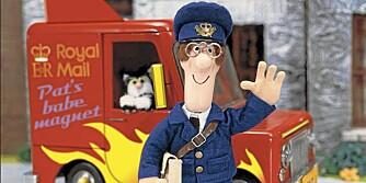 POSTMANN PAT: Postmannen er en stor helt for mange unge gutter.