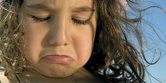 SUTRETE: Foreldre gjør klokt i å ta barns sutring på alvor.