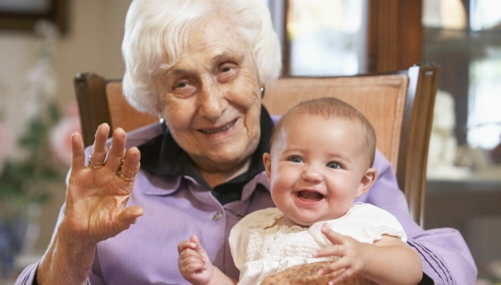GAMLE NAVN: Oldemors navn er gjerne mer aktuelt enn bestemors hvis babyen skal kalles opp etter tidligere generasjoner.