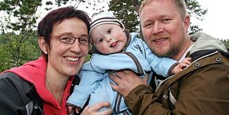 HÅP: Elin og Tor Petter velger å tenke positivt og håper at Øyvind vil vinne kampen mot kreften.