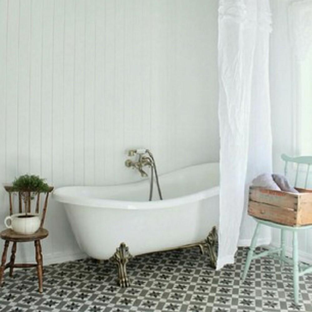 LANDLIG: Lise Mari Jacobsen sitt bad har en ren, nostalgisk stil som er uimotståelig i all sin enkelhet.