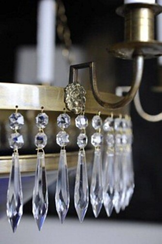 KRYSTALL: Krystallprismer skal kunne vaskes i oppvaskmaskin hvis temperaturen er under 60 grader.