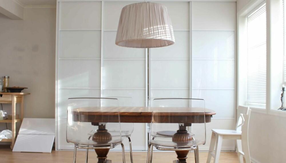Svært Så høyt skal spisebordlampa henge - Kjøkken IM-71