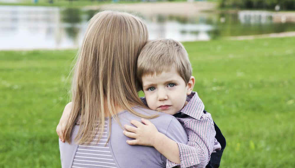 VONDT: Det er vondt å oppleve at besteforeldrene prioriterer andre barnebarn. Illustrasjonsfoto: Thinkstockphotos