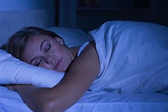 NOK SØVN: Om du skal fungere optimalt er det viktig med nok søvn.