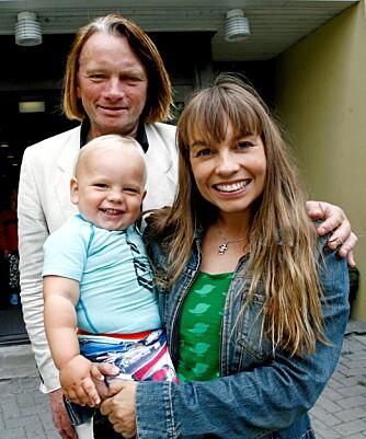 SMÅBARNSFORELDRE: Jan Eggum og kjæresten Kaia Huuse har fra før av sønnen Bastian (3) sammen.