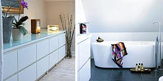 GJENNOMFØRT: En interiørarkitekt eller interiørkonlusent kan hjelpe deg med å finne en ny stil til hjemmet ditt. Plansjer og collager brukes ofte for å hjelpe kunden å se for seg hvordan resultatet blir.