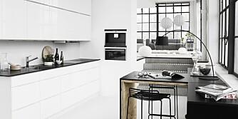 LITEN PLASS: Med dette kjøkkenet fra Kvik trenger du ikke å ha stor plass hjemme.