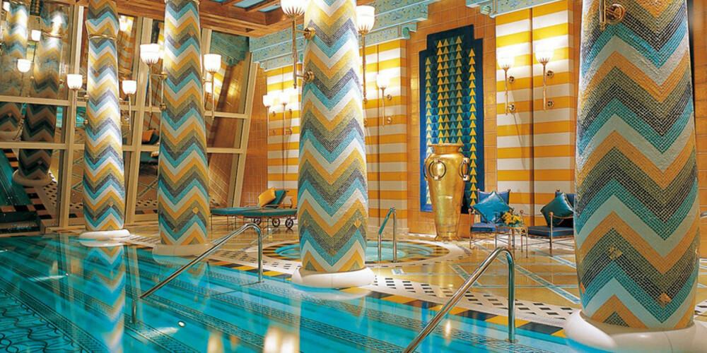GULL: På Burj Al Arab i Dubai har du eget basseng på suiten din.