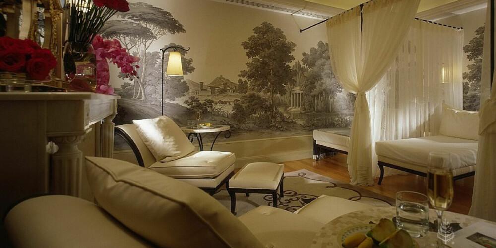 PARIS: På Four Seasons Hotel George Vs luksussuite koset det deg den nette sum av 141,000 kroner natten.