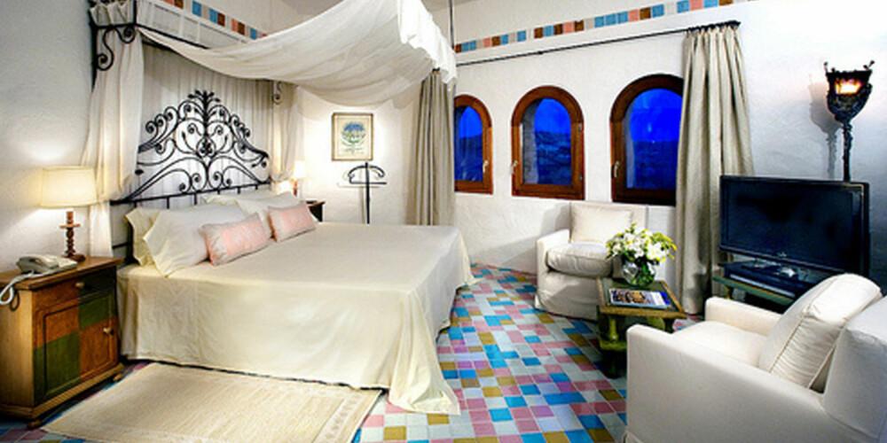 188,000 KRONER: Det koster det deg å sjekke inn på Presidential Suite på Hotel Cala di Volpe på Sardinia.