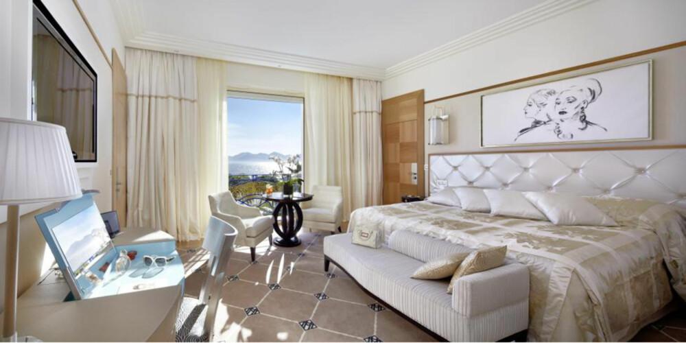 RIVIERA: Bo i stil på Penthouse Suite på Hotel Martinez i Cannes. Men det koster.