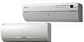 VINNERNE: IVT og Mitsubishi topper Forbrukerrådets test av varmepumper. IVT-modellen passer best for dem med et vanlig oppvarmingsbehov, mens Mitsubishi-modellen kan være førstevalget for dem som bor i særlig kalde områder og som kanskje også har en stor eller dårlig isolert bolig.
